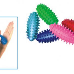 Váleček s bodlinkami  7 cm 20g –  váleček pro masáže a posilování dlaní.