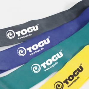 Theragym Band Togu 240×7,5 cm lehký-zelený